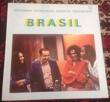 JOAO GILBERTO* brasil CAETANO VELOSO*GILBERTO GIL 1981 DUTCH PHILIPS VINYL LP
