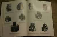 Katalog 1200 alte Kameras, Fotoapparate 1839-1971, Box, Rollfilm, Spiegelreflex