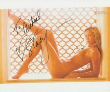 STACY KEIBLER Signed Photo 10x8 WWE Professional WRESTLER Super Stacy COA 10/22