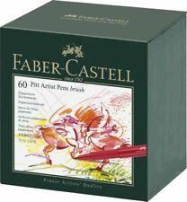 Faber-Castell Pitt Artist Pens Brush - Set of 60