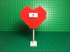 Lego New Mothers Day,Valentine's Day Mini Love Red Heart Gift Mini Display Stand