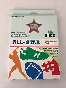 Making Memories Slice Design Card All Star BRAND NEW