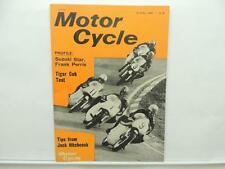 April 1966 Motorcycle Magazine Suzuki Frank Perris Tiger Cub T20 Honda L8031