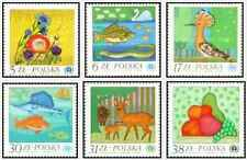 Timbres Animaux Flore Pologne 2663/8 ** lot 19191