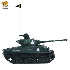 HOOBEN 1:16 US FURY M4A3E8 Sherman Army Battle RC  RTR TANK  IR Smoke Metal Gear