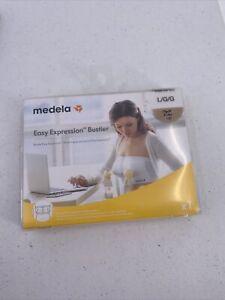 Medela Hands-Free Pumping Bra Easy Expression Bustier Nude L Large