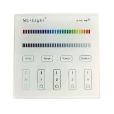 MiLight RGB RGBW 4-Zone Wand Touch Panel Controller Funk 230V Betrieb