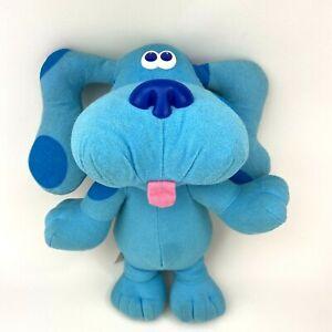"Tyco Blues Clues 12"" Talking Singing Sing Along Plush Stuffed Toy Vintage 1997"