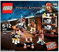 Lego 4191 PIRATES OF THE CARIBBEAN The Captain's Cabin