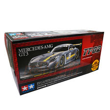 Tamiya 1:10 TT02 4WD On Road Mercedes-AMG GT3 EP Touring RC Cars Kit #58639
