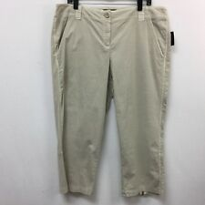 INC International Concepts Womens Size 16 Light Khaki? Pants NWT