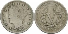 USA 5 Cents 1910, Silber #Q19