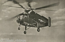 Postcard 1111 - Aircraft/Aviation Real Photo Keller R-8 Helicopter