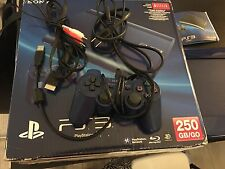 Sony Playstation 3 Super Slim Launch Edition 250GB Azurite Blue Console