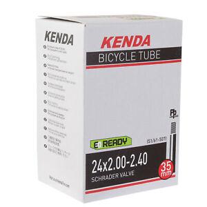 """Kenda Butyl tube, 24 x 2.0-2.4"""" SV each"""