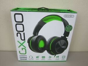 Sentry Industries GX200 Gaming Headset - Green (Brand New Sealed)
