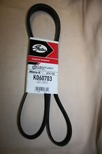 Serpentine Belt-Premium OE Micro-V Belt Gates K060703 FREE SHIPPING in the USA