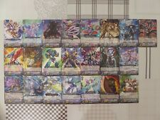 Cardfight Vanguard Japanese Lot - 142 Cards (C + R) From Booster Pack BT13