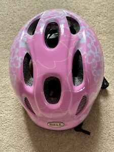 Bell 'Jumpstart' pink adjustable cycle helmet, size 48 - 54 cm