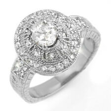 1.33 CTW Certified VS/SI Diamond Ring 18K White Gold - REF-235T3M - ... Lot 7053