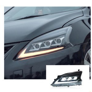 For Nissan Sentra LED headlamps LED DRL 12-15 Replace OEM Headlights Sequential