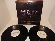 VAN DER GRAAF GENERATOR LIVE VITAL 2 LP STERLING US PVC 9901 G/F PROG NM VINYL