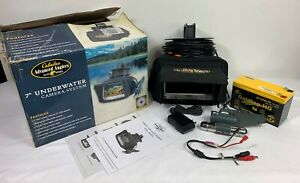 """CABELA'S Advanced Anglers Elite Series Underwater Camera System 7"""" Color Monitor"""
