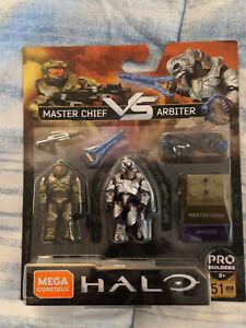 Mega Construx Final Showdown: Halo Master Chief Vs Arbiter Figures