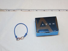 Ladies Womens girls Avon Empowerment Bracelet Small blue F3216611 NIP;;