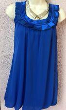 Tunique Bleue Forme Boule NEW LOOK T 38/40