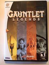 Gauntlet Legends - Sega Dreamcast - Replacement Case - No Game