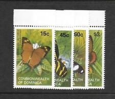1982 Dominica Butterflies SG816-819 Unmounted mint (MNH)