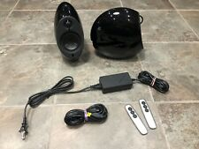 Edifier e25 Luna Eclipse Bluetooth 2.0 Speaker Set with Bass Radiators - Black