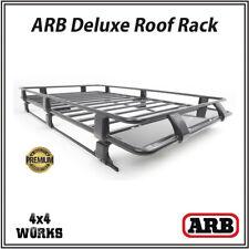 Barras de techo barras de aluminio con cerradura y coche Rack Bandeja para caber Toyota Hilux SW4 06-15