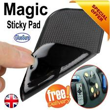 CAR ANTI SLIP STICKY MAT DASH BOARD NON SLIP MOBILE PHONE KEYS GADGET HOLDER UK
