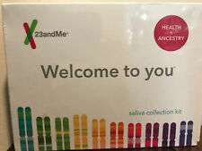 23andMe DNA Test - Health and Ancestry Service ~Sealed~ LAB Fees Included