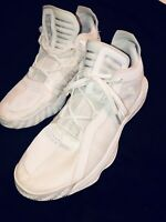 Adidas Dame 6 Ruthless Basketball Shoes Fv7048 Size 12.5 All White Amazing Cond.