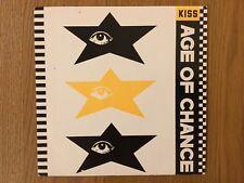 "Age Of Chance ""Kiss"" 7"" vinyl single"