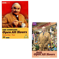 Open All Hours Complete Series 1 - 4 DVD Box Set + Still Open All Hours 1+2 R4