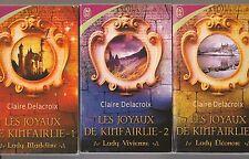 Les joyaux de Kinfairlie  1 Madeline 2 Vivienne 3 Eleonore  Claire Delacroix