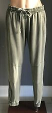 COTTON ON Khaki Full Length Elastic Waist & Cuff Jogger Pants Size S/10