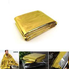 Emergency Solar Blanket Survival Safety Insulating Thermal Heat 210X160cm SPT