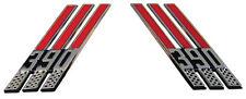 66-69 Ford F100 Galaxie 390 3-Bar Fender Emblems Pair