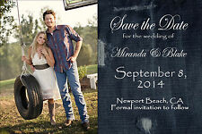 SAVE the DATE cards *Choose Any* Country Western Denim, Print your own, Jpg file