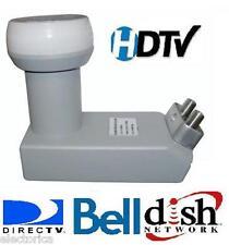 DUAL DSS CIRCULAR LNB DISH NETWORK BELL EXPRESS FTA DTV LNBF SATELLITE