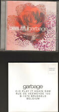GARBAGE BEAUTIFUL 14tr CD LUXURY foc LYRICS & POSTCARD