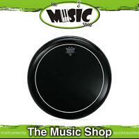 "New Remo 20"" Ebony Pinstripe Bass Drum Skin - Black Drum Head - ES-1620-PS"