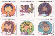 Miss O & Friends 12 Temporary Tattoos Justine Harlie
