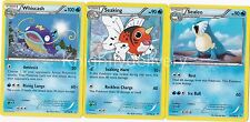 Pokemon Wallace Complete Deck - Sealeo - Seaking - Whiscash - NM - 60 Cards