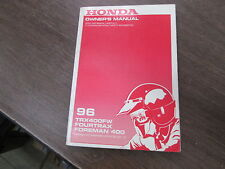 Honda Factory Owners Manual 1996 TRX400FW TRX400 Fourtrax Foreman 400